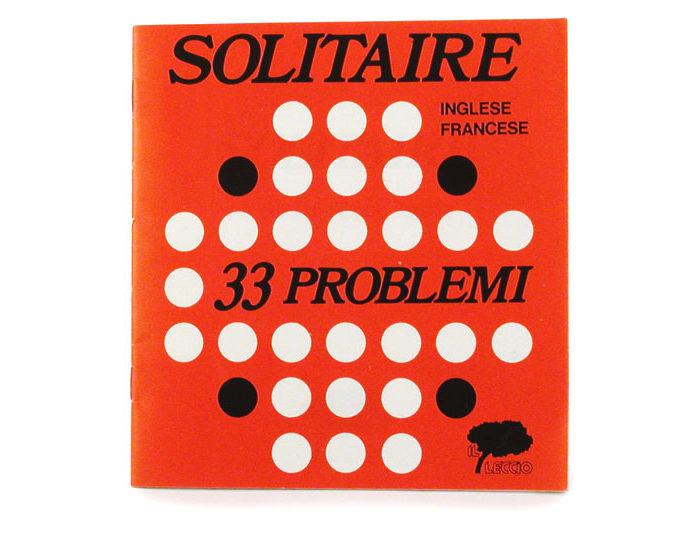 CARNET DEL SOLITARI 33 PROBLEMI