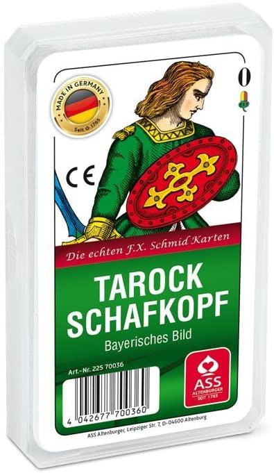 CARTES TAROCK SCHAFKOPF