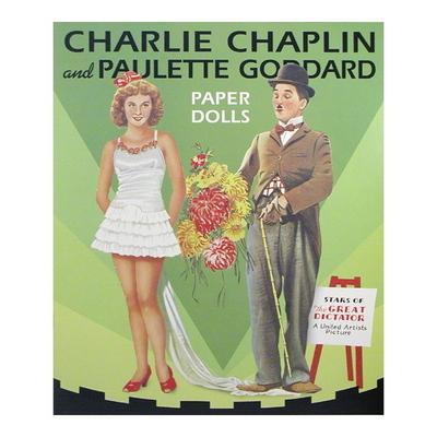 CHAPLIN I GODDARD PAPER DOLL BOOK