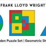 FRANK LLOYD WRIGHT GEOMETRIC SHAPES WOOD