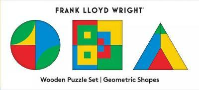 FRANK LLOYD WRIGHT GEOMETRIC SHAPES WOOD