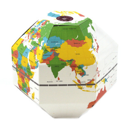 GEO FOLDABLE GLOBE NATION