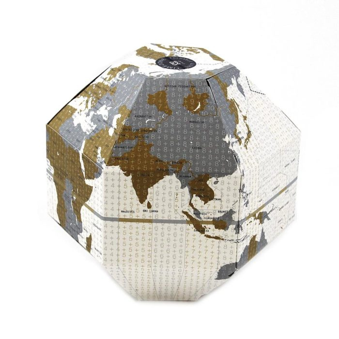 GEO FOLDABLE GLOBE TIMEZONE