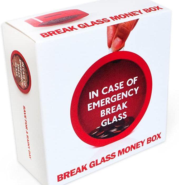 GUARDIOLA EMERGENCY MONEY BOX