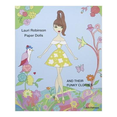 LAURI ROBINSON PAPER DOLL BOOK