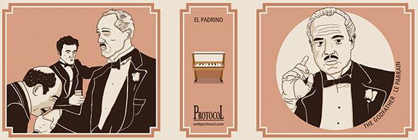 MANIVELA MUSICAL LLIBRET EL PADRINO - 1536