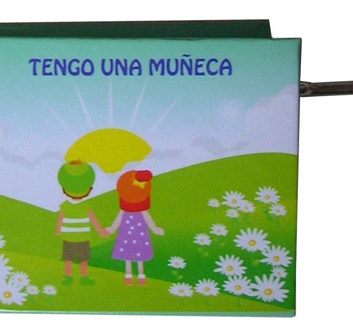MANIVELA MUSICAL LLIBRET TENGO UNA MUÑECA - 1464