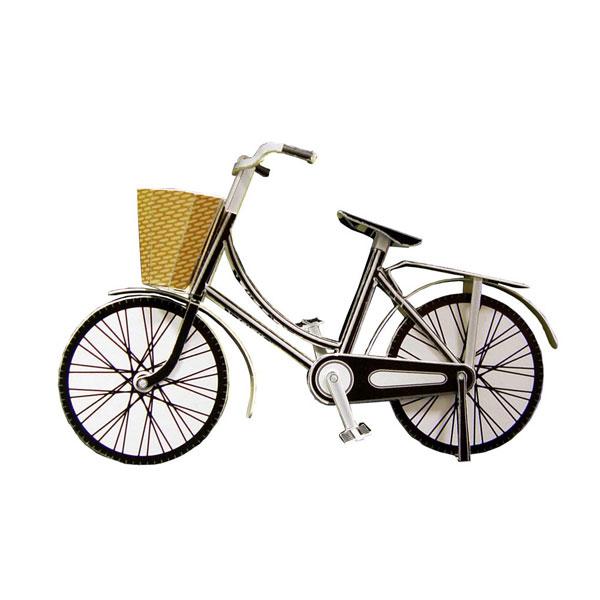POSTAL RETALLAR PAPER MODEL BICYCLE