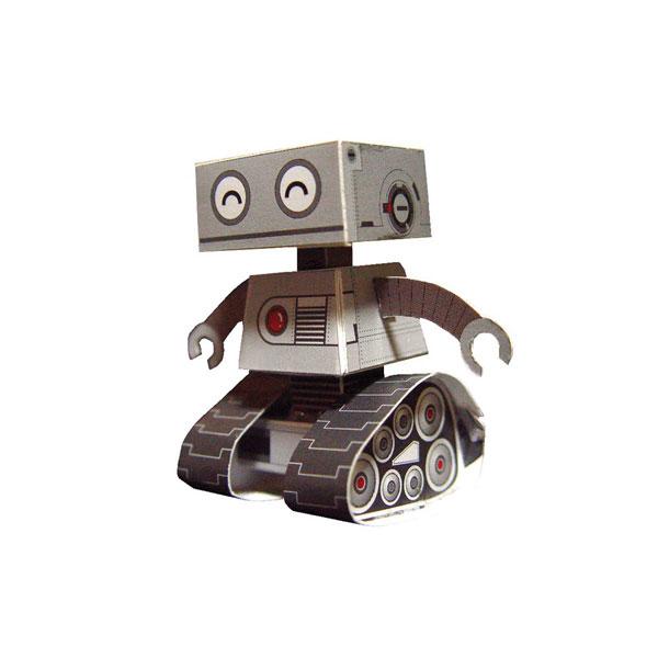 POSTAL RETALLAR PAPER MODEL ROBOT