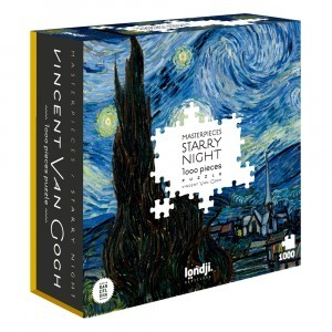 PUZZLE STARRY NIGHT 1000 PECES