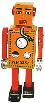 ROBOT LILLIPUT TARONJA