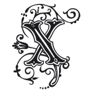 SEGELL ALFABET X