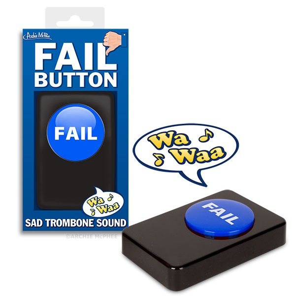 SONS BUTTON FAIL