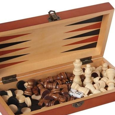 ESCACS, DAMES I BACKGAMMON