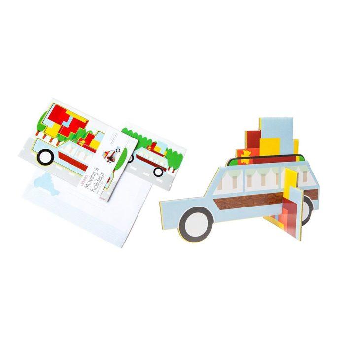 MOVING & HOLIDAYS (COTXE VACANCES) A5