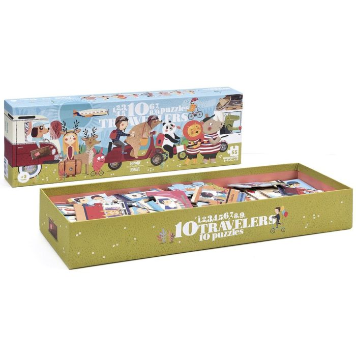 10 TRAVELERS PUZZLES