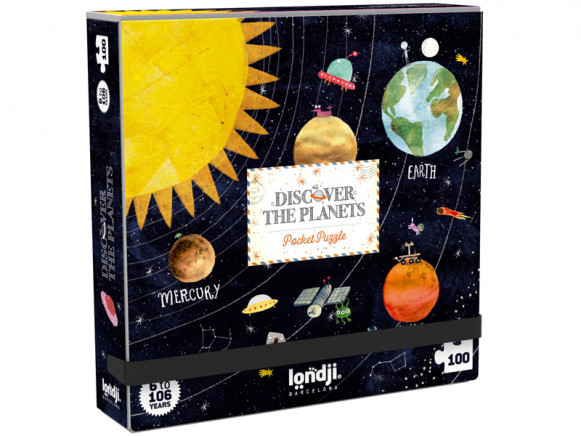 DISCOVER THE PLANETS POCKET PUZZLE