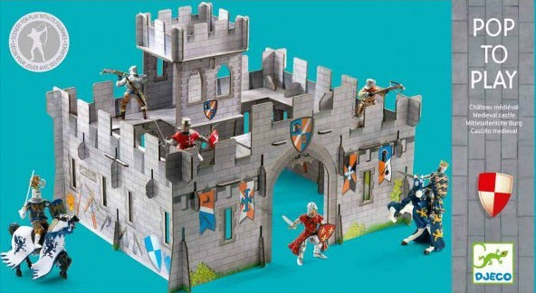POP TO PLAY CASTELL MEDIEVAL 3D