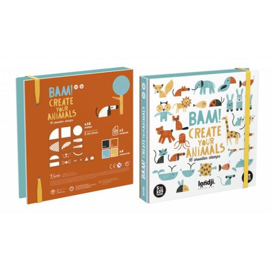 BAM! ANIMALS STAMPS