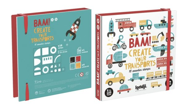 BAM! TRANSPORTS STAMPS