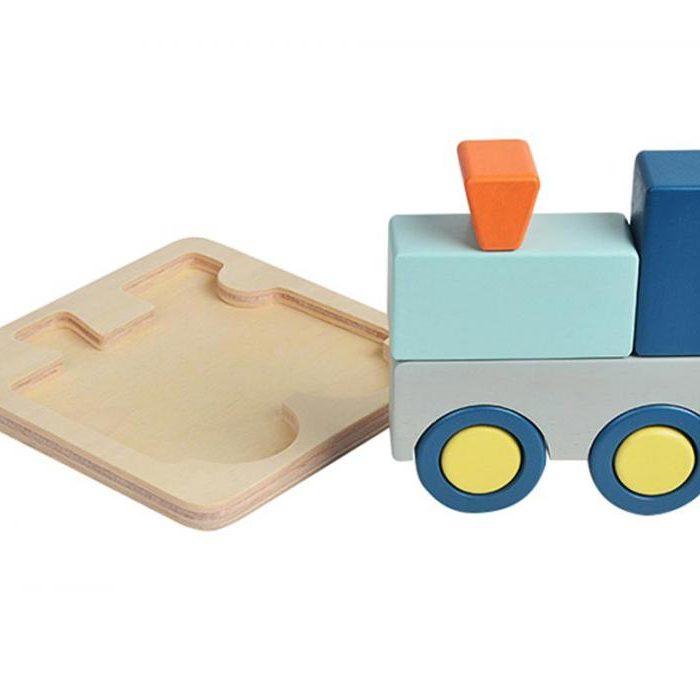 TRAIN TRAY PUZZLE