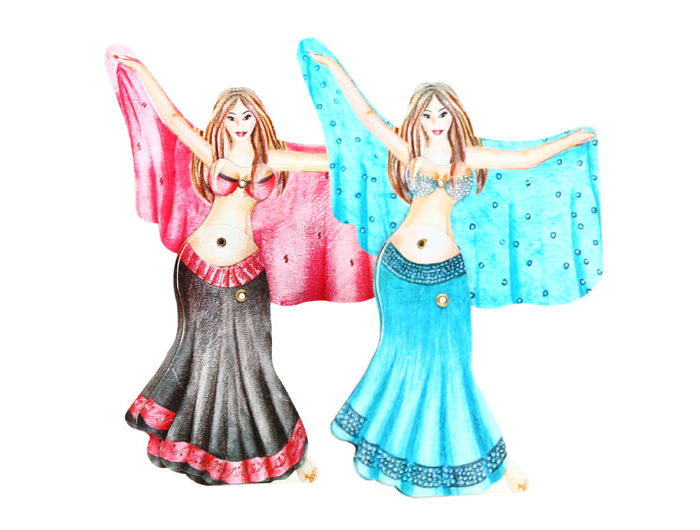 """ACTION CLICKERS """"BELLY DANCER"""""""