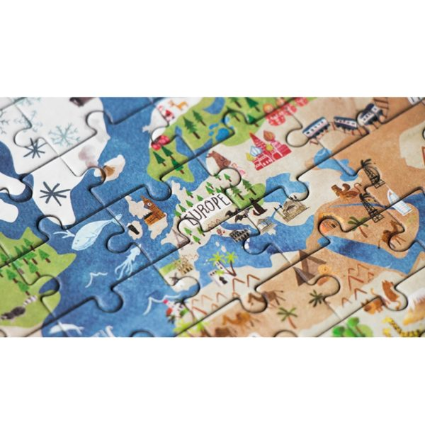 DISCOVER THE WORLD POCKET PUZZLE
