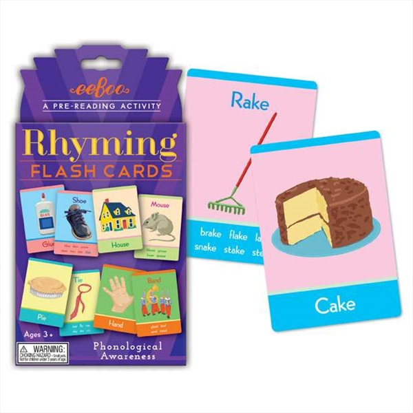 FLASH CARDS RHIMING