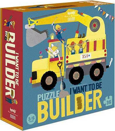 I WANT TO BE... BUILDER