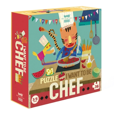 I WANT TO BE... CHEFF PUZZLE