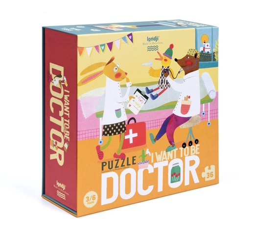 I WANT TO BE... DOCTOR
