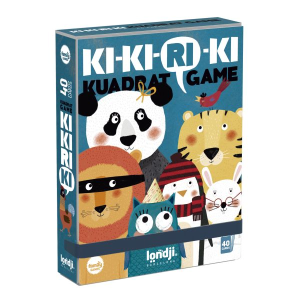 KI-KI-RI-KI KUADRAT CARD GAME