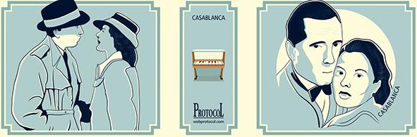 MANIVELA MUSICAL LLIBRET CASABLANCA - 1534