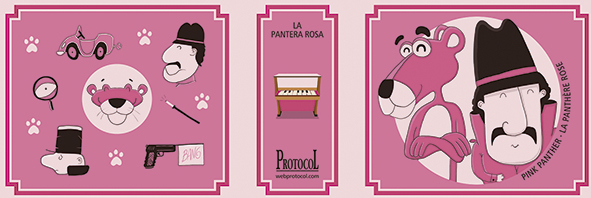MANIVELA MUSICAL LLIBRET PANTERA ROSA - 1532