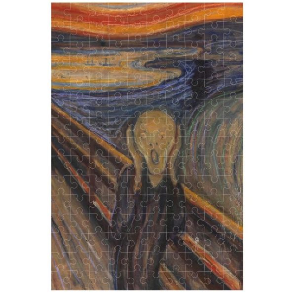 MICROPUZZLE THE SCREAM- MUNCH
