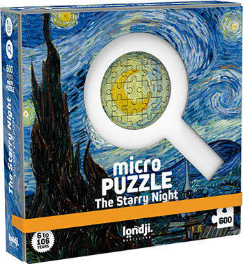 MICROPUZZLE THE STARRY NIGHT 600 PECES