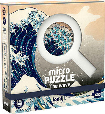 MICROPUZZLE THE WAVE - HOKUSAI 600 PECES