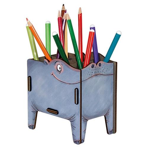 PEN BOX HIPPO