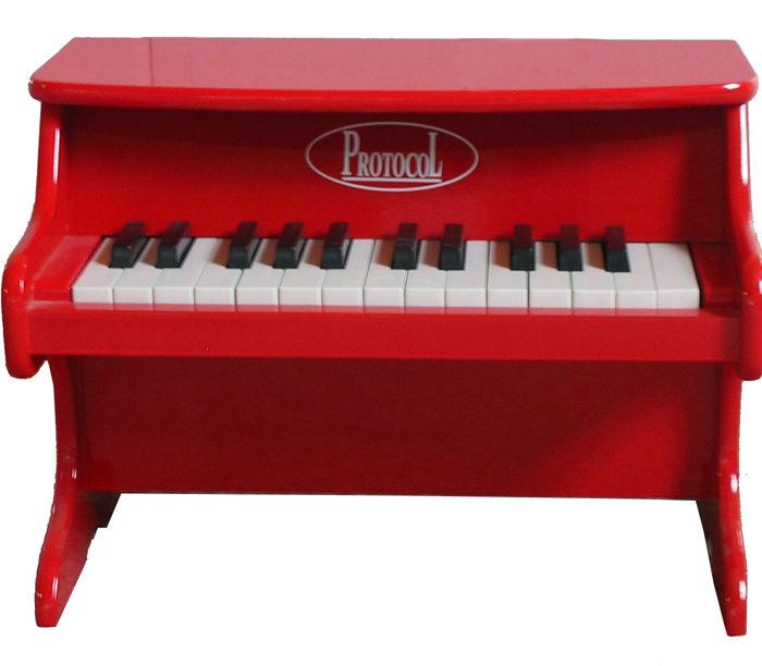 PIANO VERMELL
