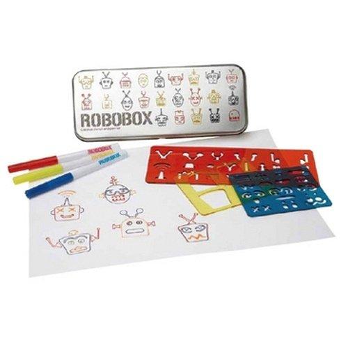 PLANTILLES ROBO BOX PINTAR