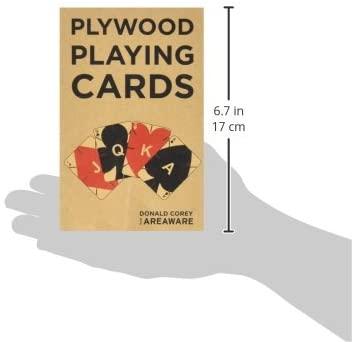 PLAYWOOD CARTAS MADERA