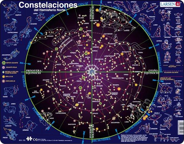 PUZZLE MAPA DE CONSTEL·LACIONS (CASTELLÀ)