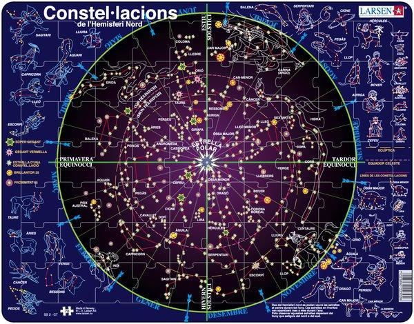 PUZZLE MAPA DE CONSTEL·LACIONS