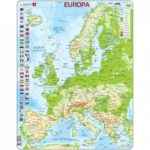 PUZZLE MAPA FÍSIC EUROPA (CASTELLÀ)