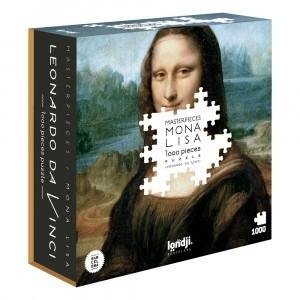 PUZZLE MONA LISA - GIOCONDA 1000 PECES