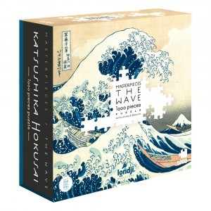 PUZZLE THE WAVE - HOKUSAY 1000 PECES