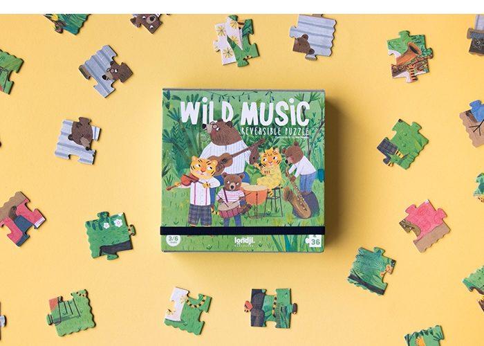 WILD MUSIC PUZZLE
