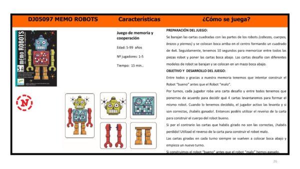 CARTES ROBOTS