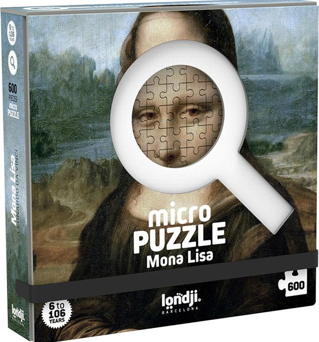 MICROPUZZLE MONA LISA 600 PECES