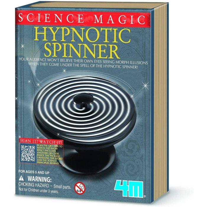 MINI SCIENCE MAGIC HIPNOTIC SPINNER